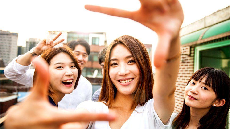 Молодежь Южной Кореи